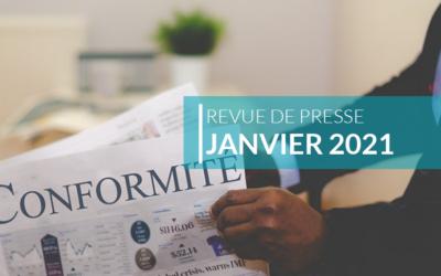 Revue de presse – Janvier 2021