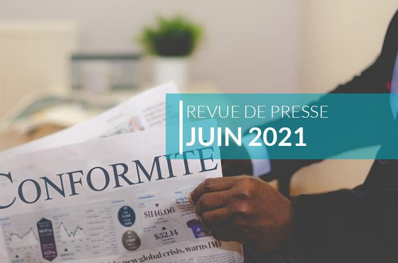 Revue de presse – Juin 2021