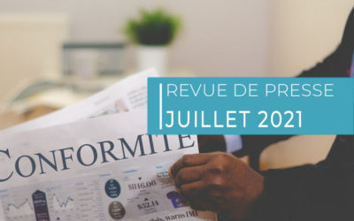 Revue de presse – Juillet 2021